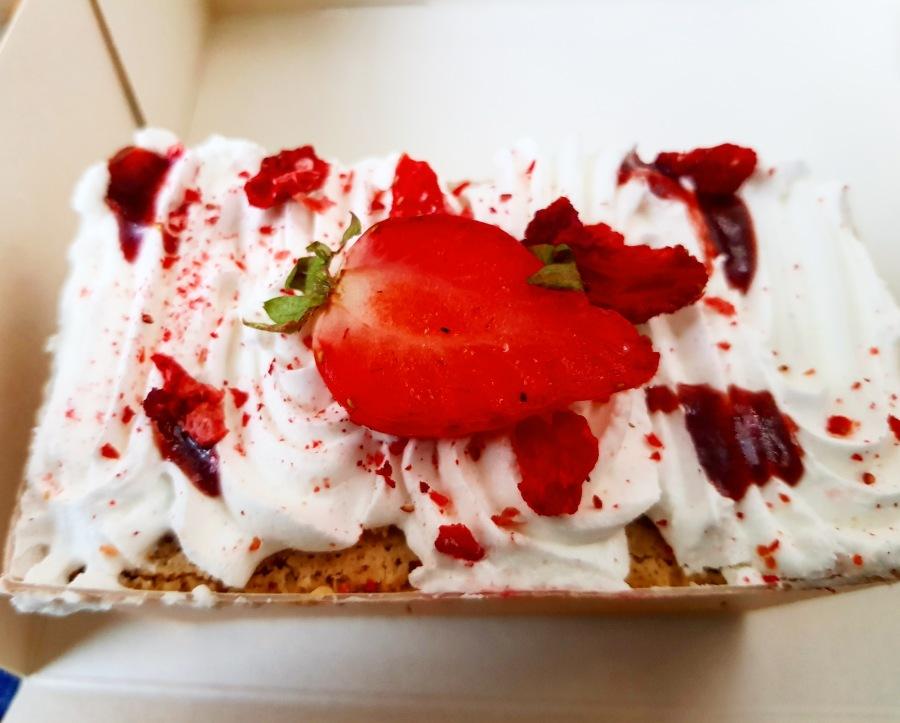 Strawberries and Cream DreamCake