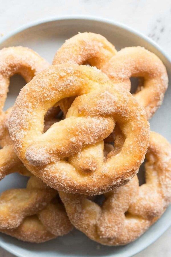 Soft-baked Pretzels