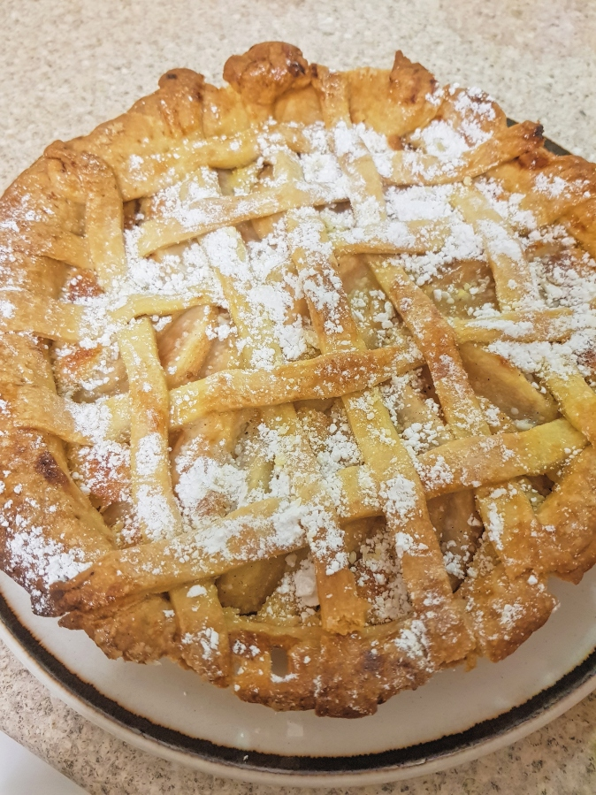 Pear and Frangipane Tart